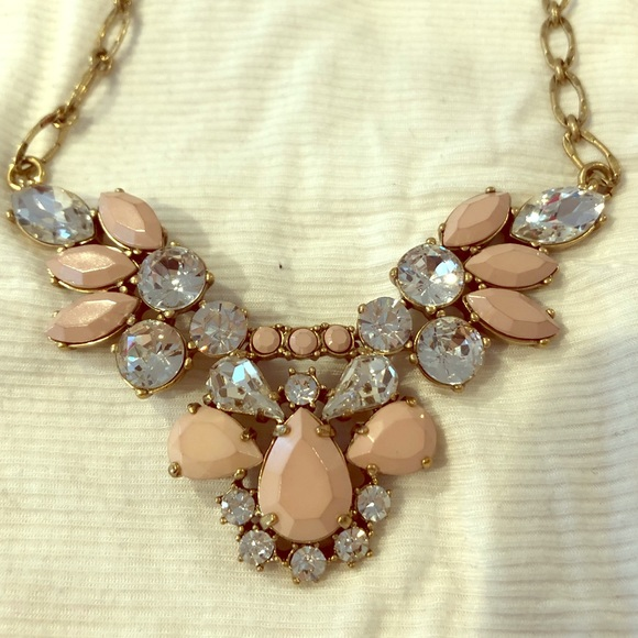 J. Crew Jewelry - J. Crew Rhinestone Statement Necklace